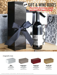 Gift & Wine Boxes